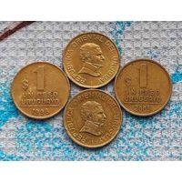 Уругвай 1 песо. Инвестируй выгодно в монеты планеты!