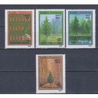 [2110] Доминиканская республика 1989. Флора.Деревья.Сохранение лесов. СЕРИЯ MNH