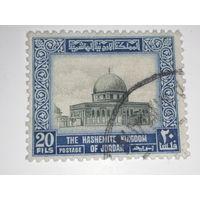 Иордания 1954-55.  Король Хусейн