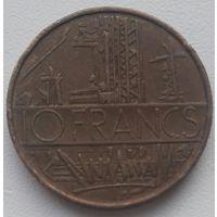 Франция 10 франков 1975, KM#940
