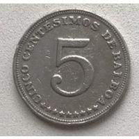 Панама 5 сентесимо 1993 г.