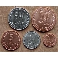 Катар набор из 5 монет 2016 г.