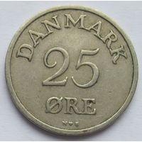 Дания 25 эре 1953
