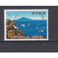Заповедник. Япония. 1969. 1 марка (полная серия). Michel N 1032 (0,5 е)