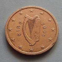2 евроцента, Ирландия 2005 г.