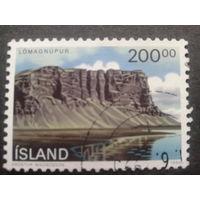 Исландия 1990 скала