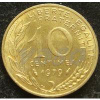 2005:  10 сантимов 1979 Франция KM# 929
