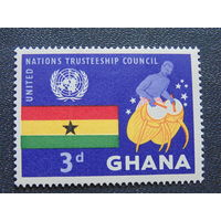 Гана. Флаг.