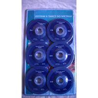 Набор отрезных дисков по металлу (6 штук), 155х3.0х22.23 мм.   распродажа