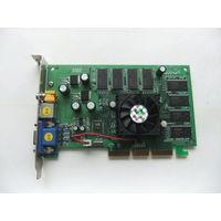 Видеокарта NVIDIA GeForce 4 MX 440-8x 128MB DDR + TV