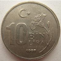 Турция 10000 лир 1997 г. (g)