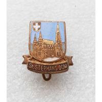 St. Stephans Dom. Собор Святого Стефана в Вене, Австрия. Тяжелый металл #1299-CP22