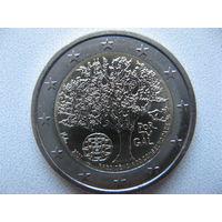 Португалия 2 евро 2007г. Председательство Португалии в Евросоюзе. (юбилейная) UNC!