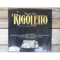 London Symphony Orchestra, Richard Bonynge - Дж. Верди. Риголетто, арии и сцены из оперы - Decca, Германия