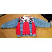 """Эксклюзивная винтажная джинсовая куртка XL """"Chase Elite Authentics Vintage"""""""