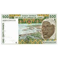 Сенегал 500 франков 1999 UNC