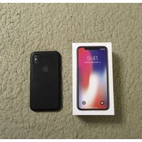 Смартфон Apple iPhone X 64GB (серый космос)