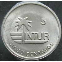 Куба 5 INTURсентаво 1989 КМ#412.3