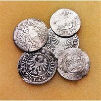5 ПОЛУГРОШЕЙ ПОЛЬСКОГО КОРОЛЕВСТВА АЛЕКСАНДР I ЯГЕЛЛОНЧИК (1501-1506) - ПО БЛИЦУ ПОЧТОЙ БЕСПЛАТНО !