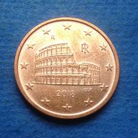 Италия 5 евроцентов 2018
