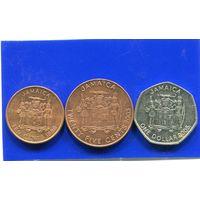Ямайка 3 монеты ( 10 + 25 + 100 ) центов