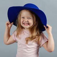 Шляпа для элегантной Леди цвет Беж