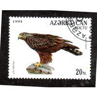 Азербайджан.Ми-174.Степной орел (Aquila Rapax) Серия: Хищные птицы.1994.