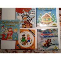 Детские книжки-малютки на немецком языке одним лотом