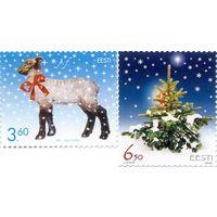 Новый год и Рождество, Праздники Эстония 2002 **