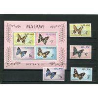 Малави. Бабочки