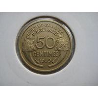 ФРАНЦИЯ 50 САНТИМОВ 1939 ГОД