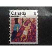 Канада 1975 Рождество, рисунок ребенка