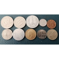 10 разных монет одним лотом. Лот 2