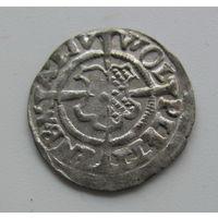 Шиллинг  магистр Вольфганг Плеттенберг  1533 Ливонский орден.редкий в качестве в звоне.