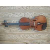 Скрипка немецкая старинная