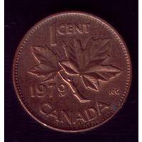 1 цент 1979 год Канада