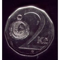 2 Кроны 2012 год Чехия