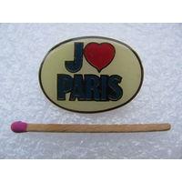 Знак. Я люблю Париж. тяжёлый