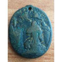 Медальон старинный монастырский