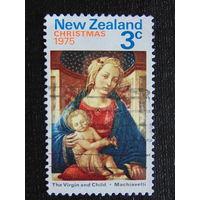 Новая Зеландия 1975 год. Рождество.