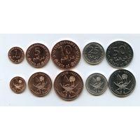 Катар НАБОР 5 монет