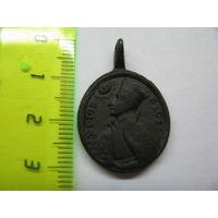Католический медальон, Игнатий Лойола и Франциск Ксаверий