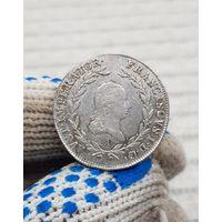 Монета Австрия 20 Крейцеров 1808 год