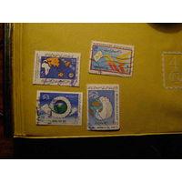 Иран 1987 - 1989 Всемирный День Почты сток марок