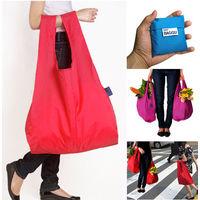 Экологичная сумка Eco-Friendly Bagg, не имеет веса, складавается в мешочек для удобного хранения, много цветов (20)