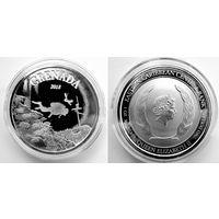Гренада, Карибские о-ва, 2018, инвестиционная, 1 oz (в т.ч. и обмен)