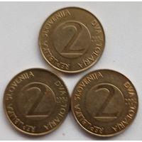 2 толара 2004 Словения