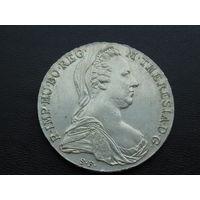 Австрия.  Талер Марии Терезии 1780-Х  Серебро. Рестрайк.