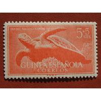 Испанская Гвинея 1954г. Фауна.