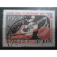 Чили 1972 туризм, гитара